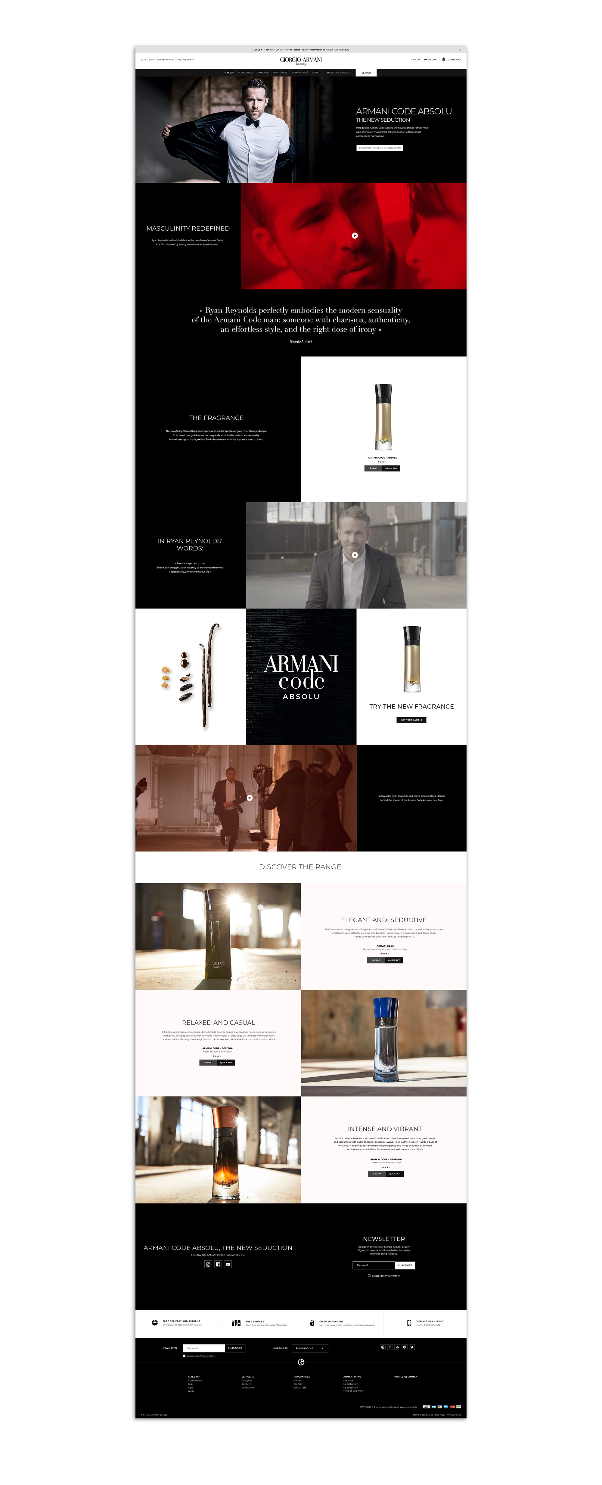 Landing-page-ARMANI-desk